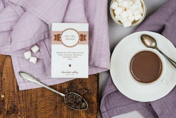 Trinkschokolade Chai Gewürzmischung Zimt Nelken Muskatnuss Kardamom Heiße Schokolade