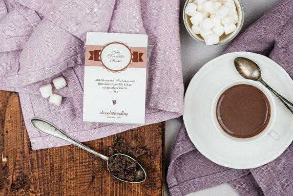 Trinkschokolade Klassik Bourbon Vanille Heiße Schokolade