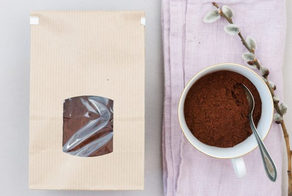 Domori Kakaopulver schwach entölt 22-24% Kakaobutter Tansania Kakao Trinitario Kakaobohnen