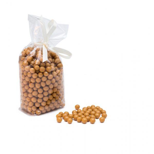 Schokoladenperlen Dulce de Leche Getreidekern Knusper