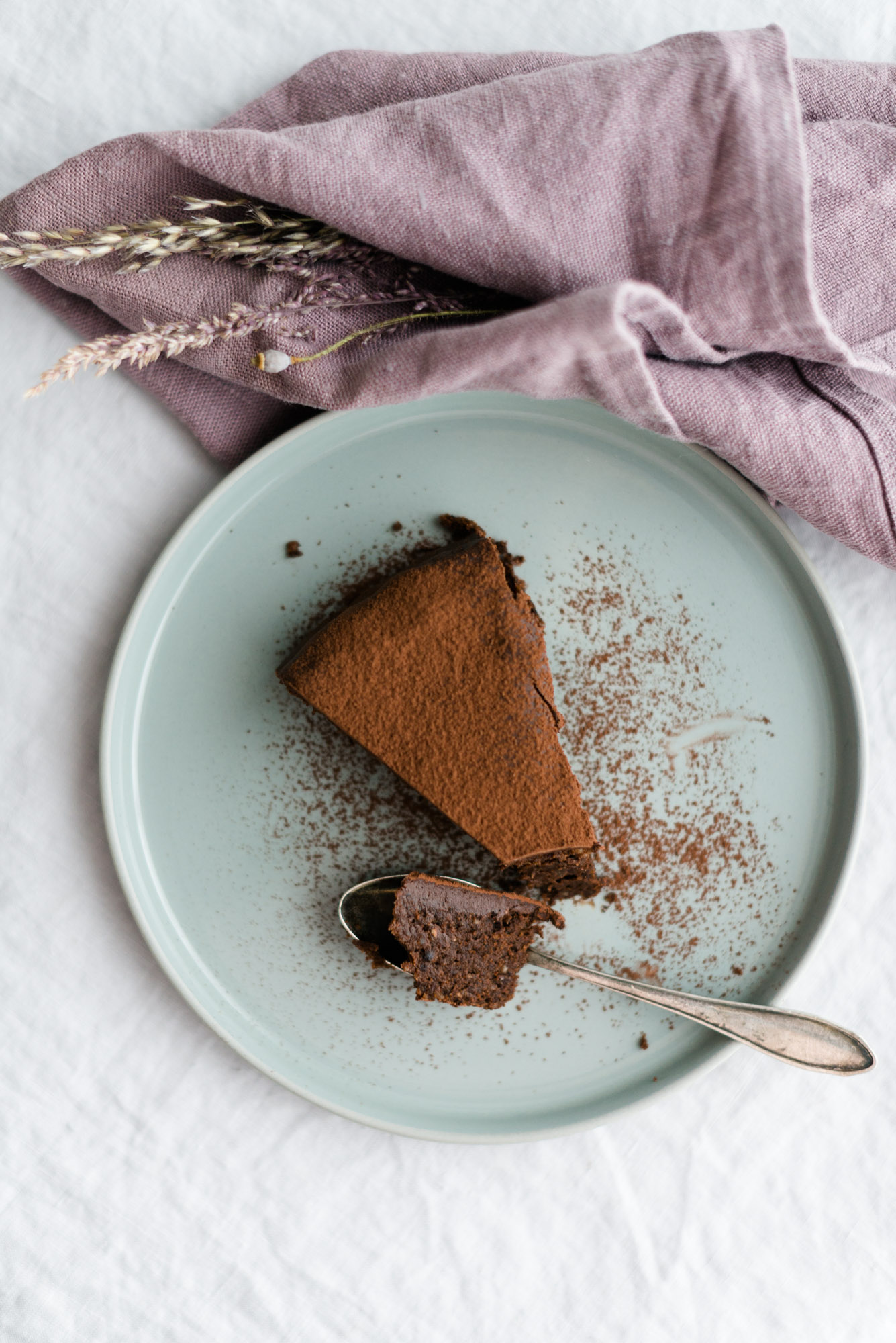 Saftiger Schokoladenkuchen ohne Mehl